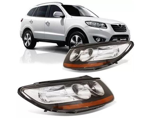 Farol Hyundai Santa Fé 2007 2008 2009 2010 2011 2012 2013 Pisca Ambar