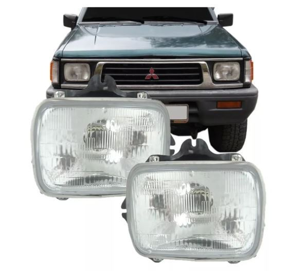 Farol Mitsubishi L300 1990 1991 1992 1993 1994 1995 1996 1996