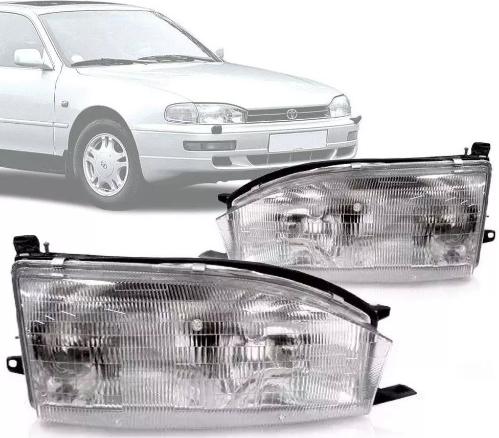 Farol Toyota Camry 1992 1993 1994 Lente Acrilico