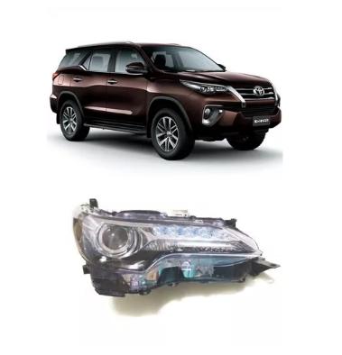 Farol Toyota Hilux Sw4 2016 2017 2018 Com Led