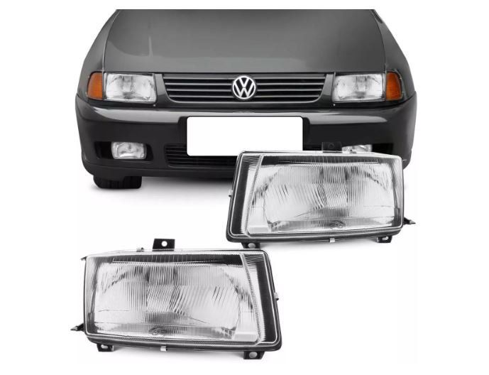 Farol Volkswagen Polo Classic 1996 1997 1998 1999 Tyc Depo