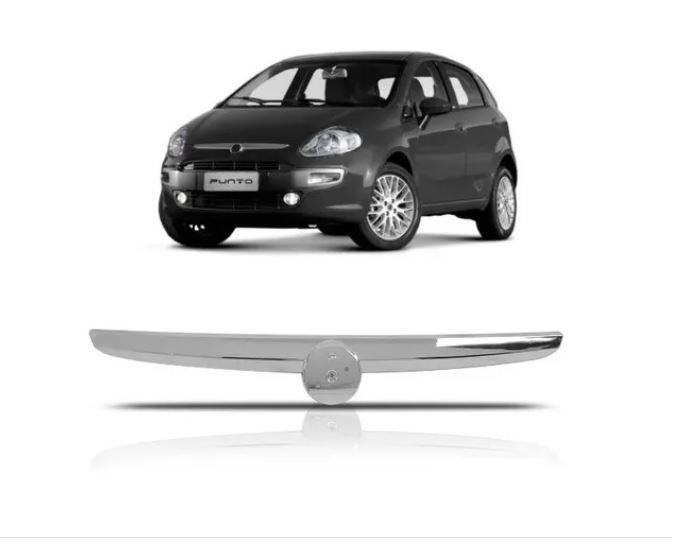 Friso Cromado Grade Fiat Punto 2013 2014 2015 2016