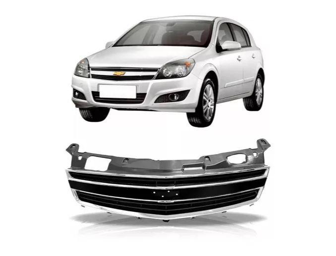 Grade Dianteira Chevrolet Vectra 2009 2010 2011 Com Friso Cromado