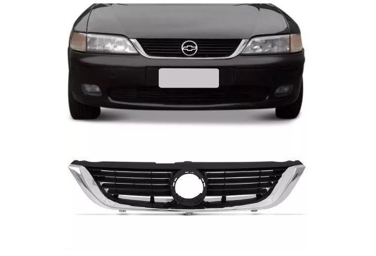 Grade Dianteira Chevrolet Vectra 1997 1998 1999 2000 2001 2002 2003 2004 Friso Cromado
