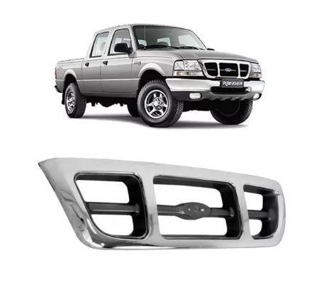 Grade Dianteira Ford Ranger 1998 1999 2000 2001 2002 2003 2004 Cromada