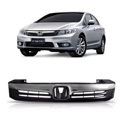 Grade Dianteira Honda New Civic 2012 2013 2014 Completa