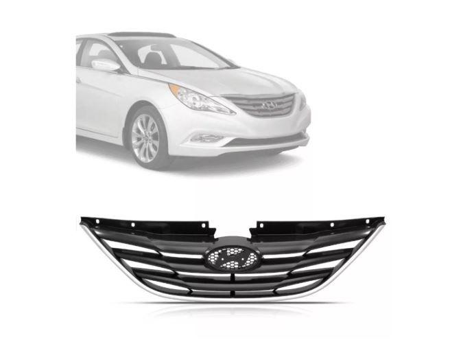 Grade Dianteira Hyundai Sonata 2010 2011 2012 2013 Cromada