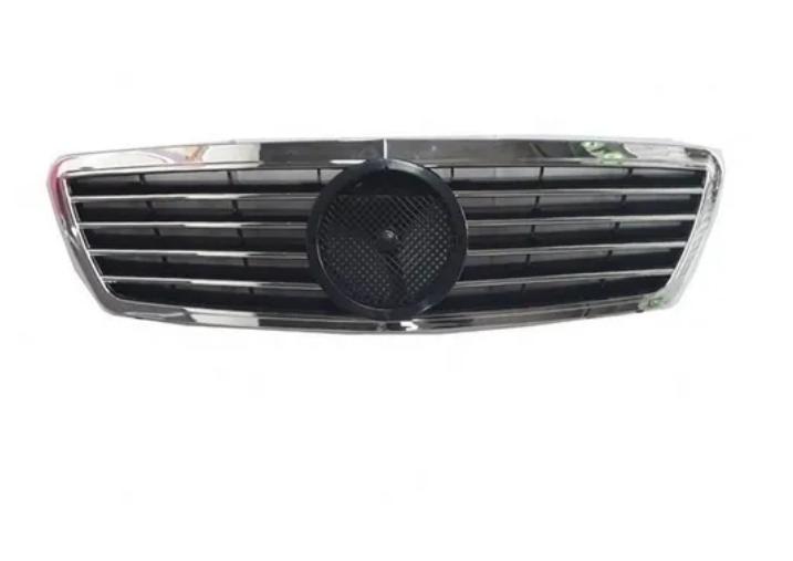 Grade Dianteira Mercedes C180 C200 C220 C240  2000 2001 2002 Friso Cromado