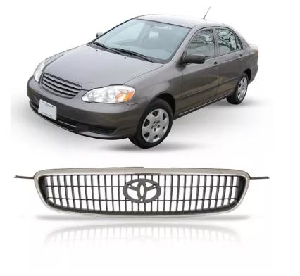Grade Dianteira Toyota Corolla Seg Fielder 2003 2004 2005 2006