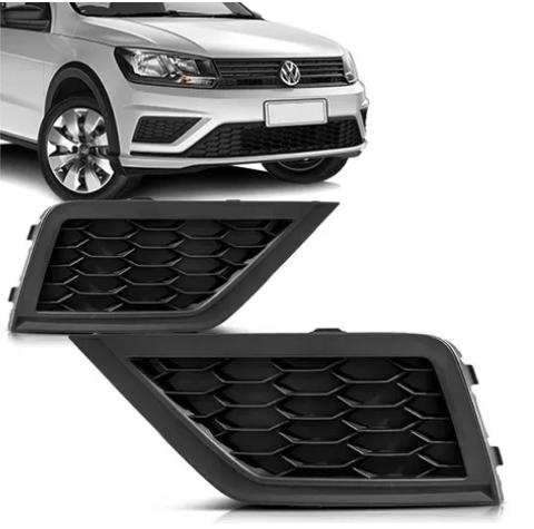 Grade Do Parachoque Lateral  Volkswagen Gol G8 2019 2020 Saveiro 2017 2018 2019 Sem Furo