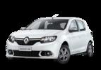 Grade Do Parachoque Renault Sandero Logan 2014 2015 2016 Central Preta Com Friso Cromado