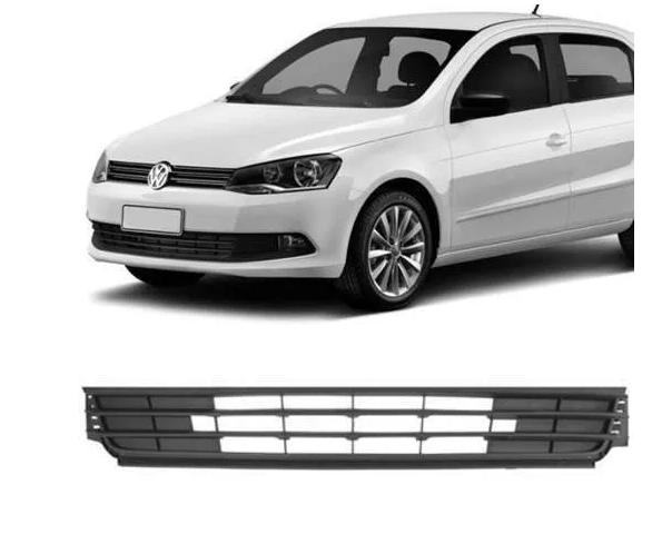 Grade Tela Central Parachoque Volkswagen Gol G6 2012 2013 2014 2015 Preta