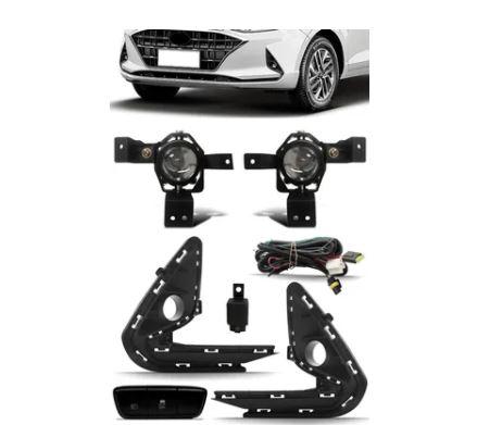 Kit Farol De Milha Hyundai Hb20 2020 2021