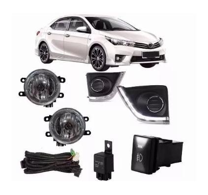 Kit Farol De Milha Toyota Corolla 2014 2015 2016