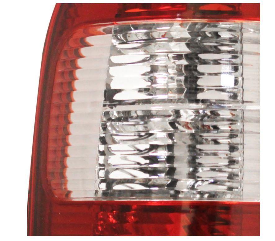 Lanterna Traseira Chevrolet S10 2001 2002 2003 2004 2005 2006 2007 2008 2009 Vermelha Cristal