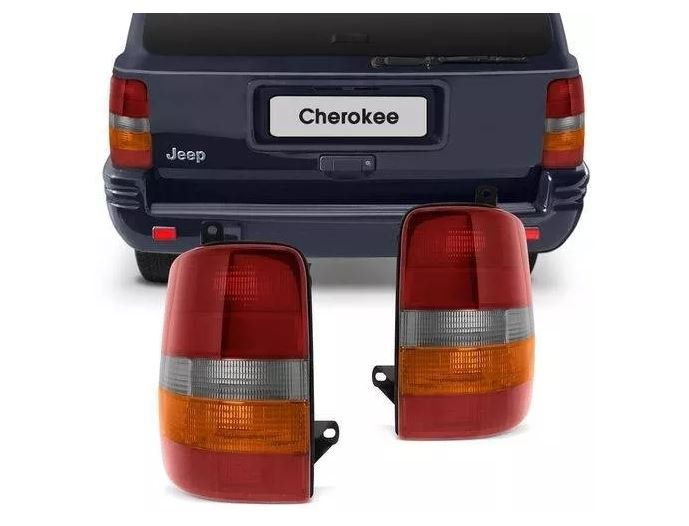 Lanterna Traseira Jeep Grand Cherokee 1993 1994 1995 1996 1997 1998 Tricolor