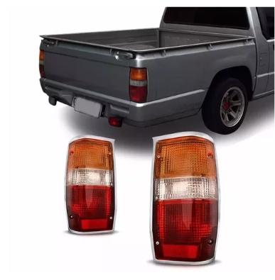 Lanterna Traseira Mitsubishi L200 1992 1993 1994 1995 1996 1997 1998 1999 Borda Cromada