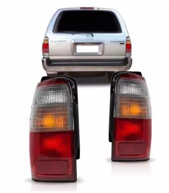 Lanterna Traseira Toyota Hilux Sw4 2001 2002 2003 2004 Bicolor