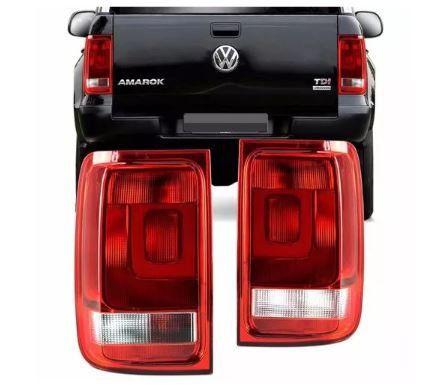 Lanterna Traseira Volkswagen Amarok 2010 2011 2012 2013 2014 Bicolor