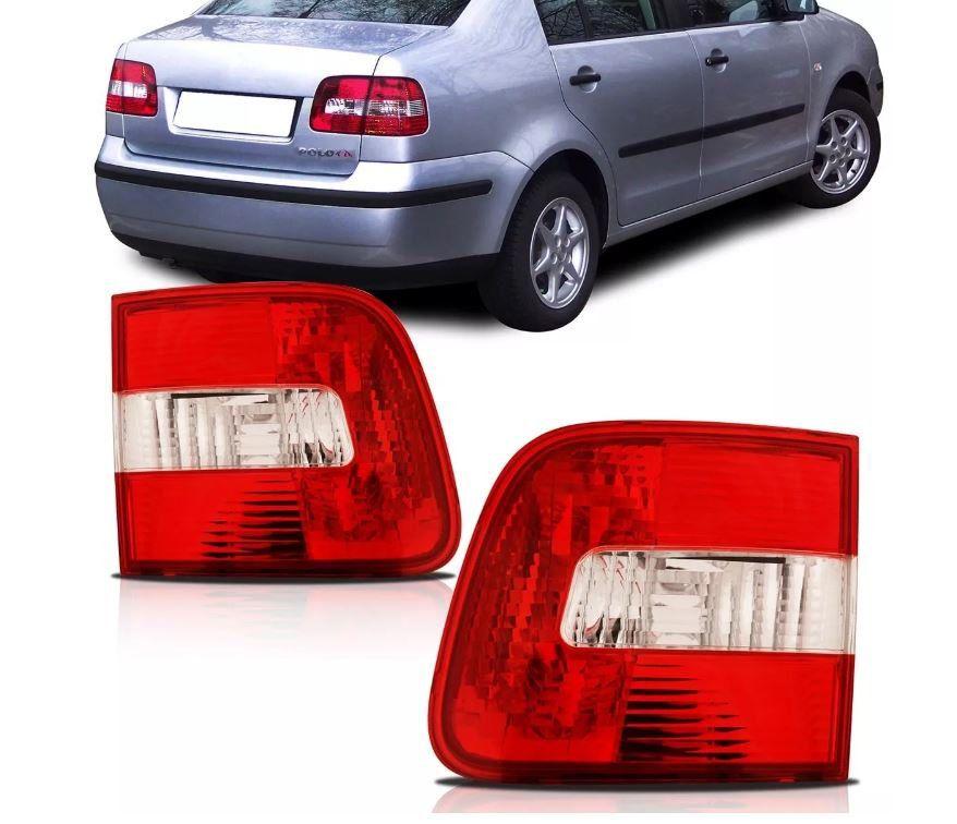 Lanterna Traseira Volkswagen Polo Sedan 2003 2004 2005 2006 Mala