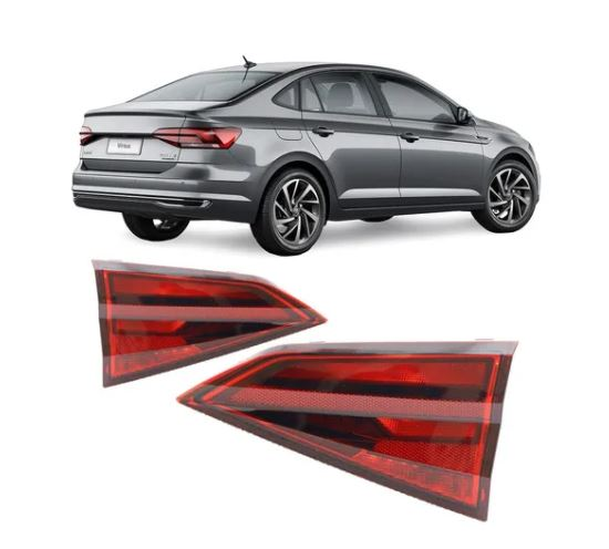 Lanterna Volkswagen Virtus 2017 2018 2019 2020 2021 Mala