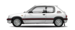 Painel Frontal Oculos Peugeot 205 1994 1995 1996 1997 1998