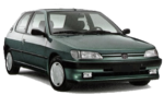 Painel Frontal Oculos Peugeot 306 1997 1998 1999 2000 2001