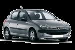 Painel Traseiro Peugeot 206 1999 2000 2001 2002 2003 2004 2005 2006 2007 2008 2009 2010 2011