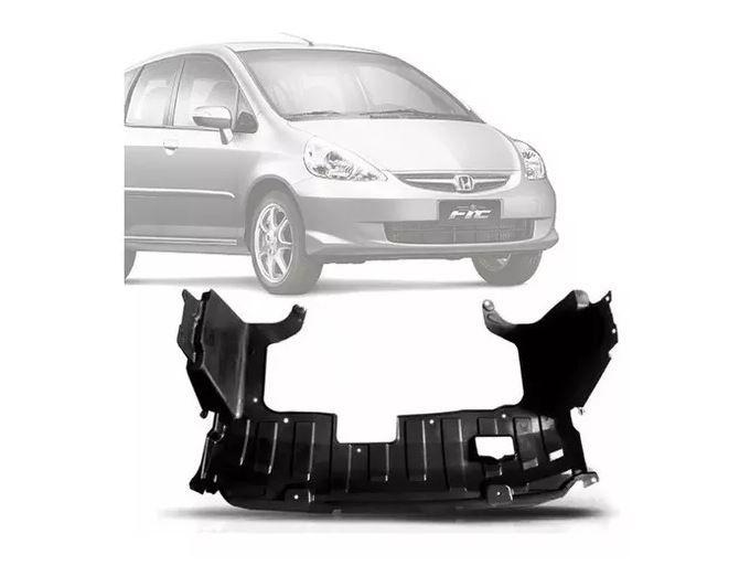 Defletor do Parachoque Honda Fit 2003 2004 2005 2006 2007 2008