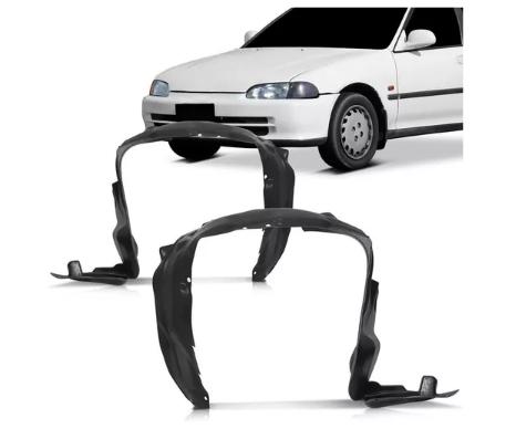 Parabarro Dianteiro Honda Civic Sedan 1992 1993 1994 1995