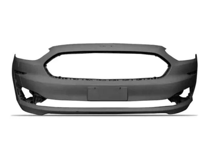 Parachoque Dianteiro Ford Ka 2019 2020 2021 Com Furo Milha