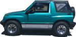 Parachoque Dianteiro Suzuki Vitara Sidekick 1990 1991 1992 1993 1994  4 Portas