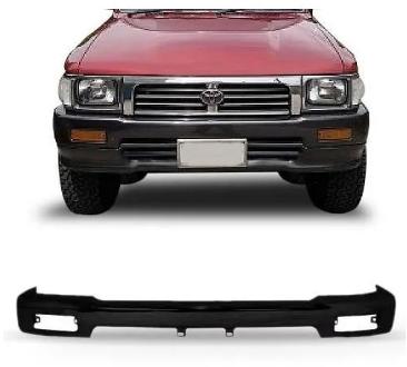 Parachoque Dianteiro Toyota Hilux Sr 4x4 1992 1993 1994 1995 1996 1997 1998 1999 2000 2001 Preto