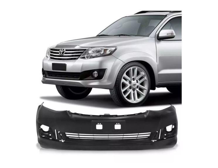 Parachoque Dianteiro Toyota Hilux Sw4 2012 2013 2014 2015 AGP Com Furo Esguicho