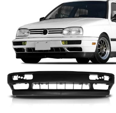 Parachoque Dianteiro Volkswagen Golf Mexicano Glx Gti 1996 1997 1998