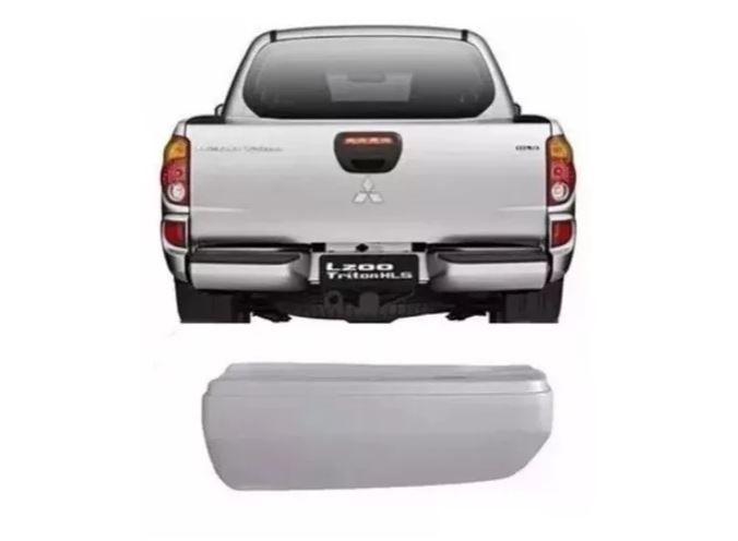Parachoque Traseiro Mitsubishi L200 Triton 2007 2008 2009 2010 2011 2012 2013 2014 2015 Plástico
