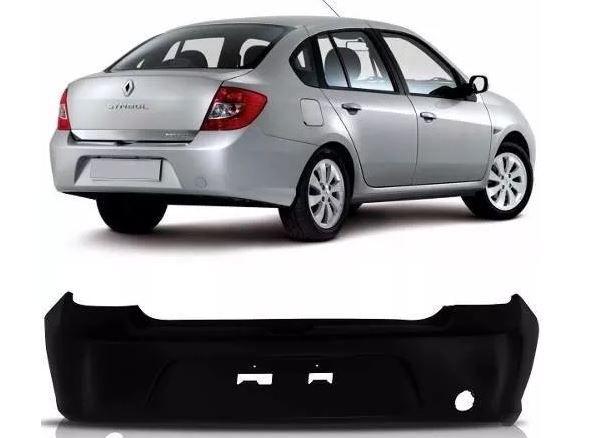 Parachoque Traseiro Renault Symbol 2009 2010 2011 2012