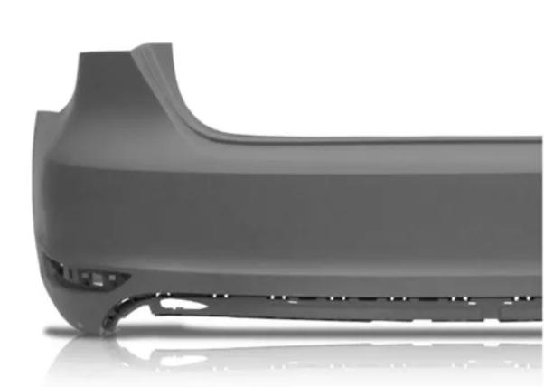 Parachoque Traseiro Volkswagen Jetta 2011 2012 2013 2014 2015 2016
