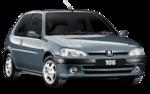 Paralama Peugeot 106 1996 1997 1998 1999 2000 2001 2002 2003 Com Furo Para Pisca