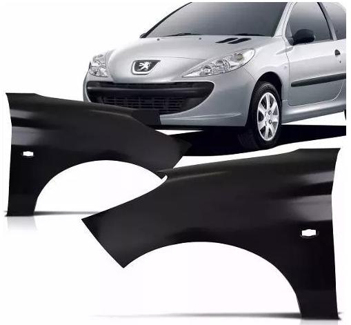 Paralama Peugeot 207 2007 2008 2009 2010 2011 2012