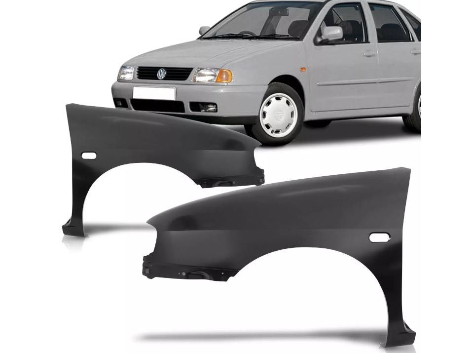 Paralama Volkswagen Vw Polo Classic 1997 1998 1999 2000 2001 2002