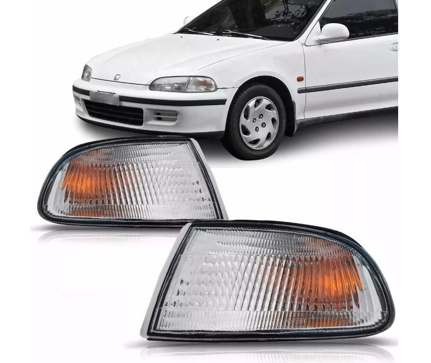 Pisca Lanterna Dianteira Honda Civic Coupe Hatch 1992 1993 1994 1995
