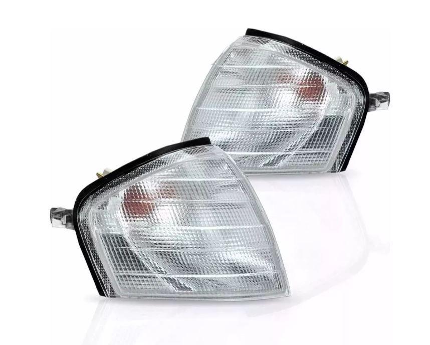 Pisca Lanterna Dianteira Mercedes Classe C180 C200 C240 C280 1994 1995 1996 1997 1998 1999 Cristal