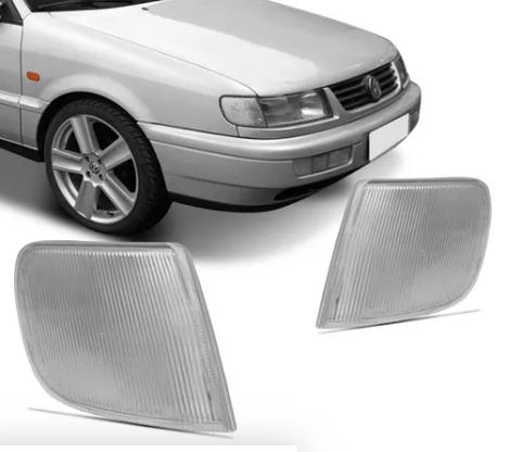 Pisca Lanterna Dianteira Volkswagen Passat 1994 1995 1996 Falso Ao Lado Do Farol