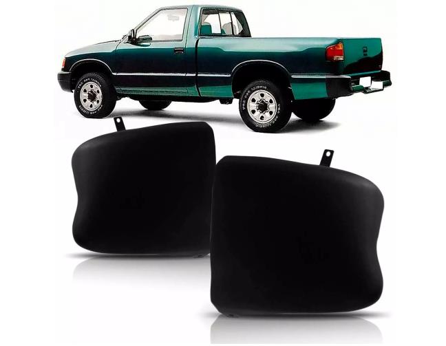 Ponteira Do Parachoque Traseiro Chevrolet S10 1995 1996 1997 1998 1999