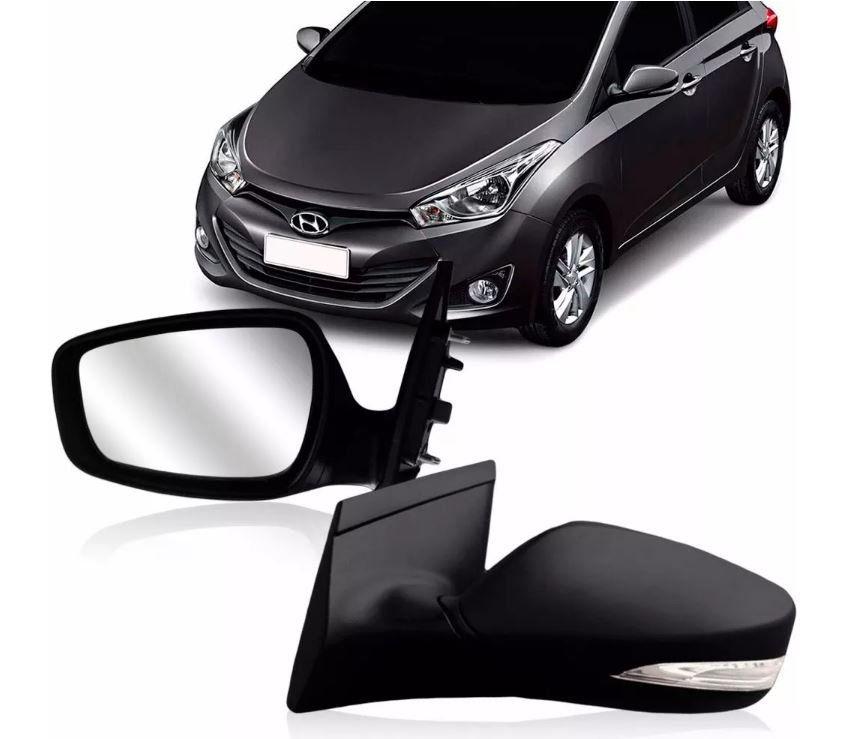 Retrovisor Hyundai Hb20 2012 2013 2014 2015 2016 Elétrico Com Pisca