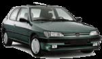 Retrovisor Peugeot 306 1992 1993 1994 1995 1996 Manual