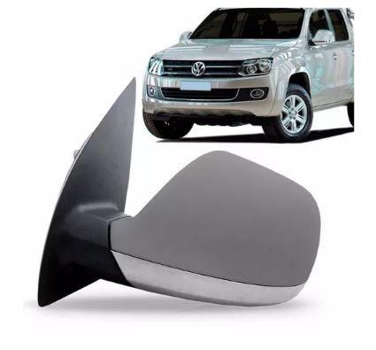 Retrovisor Volkswagen Amarok 2010 2011 2012 2013 2014 2015 Elétrico Cromado