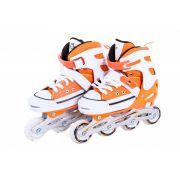 Patins All Style Street Rollers - M ( 33 -36 ) Laranja