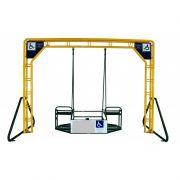 Balanço Triplo Adaptado Pra Cadeirante Fácil Esporte
